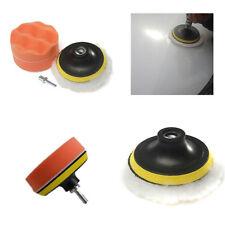 Kit de lustrage 80 mm avec plateau Velcro pour polisher automobile voiture moto