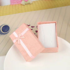 5pcs Rectangle 5*8cm Jewelry Boxes Ring Necklace Gift Cardboard Box Case Holder