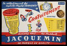 BUVARD PUBLICITAIRE ANCIEN : MOUTARDE JACQUEMIN - ENFANT