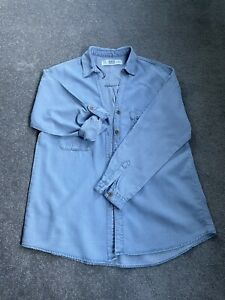 Ladies Zara Denim Blouse Shirt