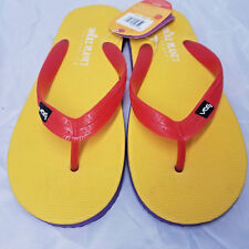 Unisex Yellow Thong Flip-Flop Sandals - NEW size Mens 7 or Womens 8 New