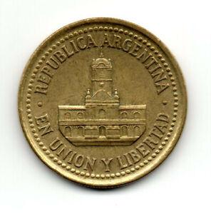 """Argentina 1992, """"The Cabildo"""" Building, 25 centavos"""