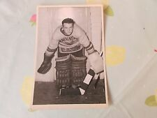 Original Pete BALENGER Harringay Racers 1950's Ice Hockey Photo