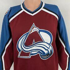 Starter Colorado Avalanche Jersey Vintage 90s NHL Hockey Sewn Youth Size L XL