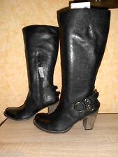 Studio W High Heel Stiefel im Westernstil NEU Gr. 41 in schwarz & Nappaleder