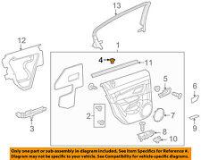Chevrolet GM OEM 11-15 Cruze Front Door-Lock Knob Bezel 20903623