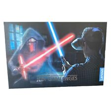 Star Wars Jedi Challenges Game AR Augmented Reality Headset Lightsaber Lenovo