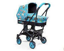 Jeremy Scott Cybex Callisto 3 in 1 STROLLER and PRAM CARRY COT & CAR SEAT NIP