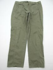 Chico's Pa872 Size 1.5 Women's Green 98% Cotton Skinny Leg Pants