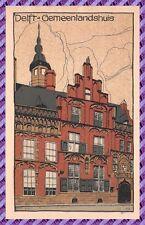 Carte Postale DELFT - Gemeenlandshuis