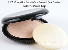 NYC NEW YORK COLOR SMOOTH SKIN POUDRE COMPACTE 704A WARM BEIGE