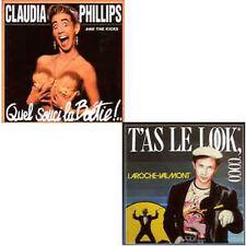 CD singl LAROCHE-VALMONT Claudia PHILLIPS T'as le look coco Quel souci la boétie