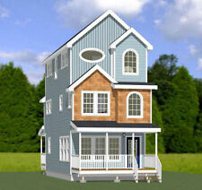 16x30 House -- 1,418 sqft -- PDF Floor Plan -- Model 16C