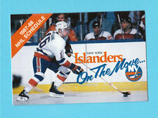 New York Islanders 1987-88 NHL Hockey Pocket Schedule Pat Lafontaine