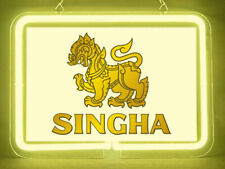 Singha Beer Hub Bar Display Advertising Neon Sign