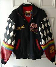Jeff Hamilton RACING COLLECTION Leather Jacket Jeff Gordon #24 Checkered Dupont