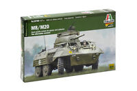 Italeri 1:56 M8/M20 Plastic Model Kit 15759 ITA15759