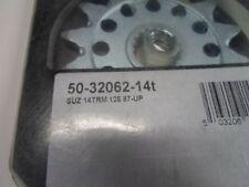 PRO TAPER SPROCKET 50-32062-14T SUZUKI SPROCKET 1987-2007 RM125 REAR SPROCKET #S