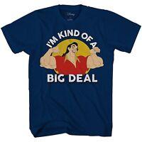 Disney World Disneyland Adult Mens Graphic T-shirt Beauty and The Beast Gaston