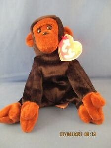 VG Condition 1996 Congo Beanie Baby (4160) with P.V.C. Pellets!