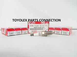 FACTORY NEW OEM TOYOTA / LEXUS 100% GENUINE SPARK PLUG SET 90919-01192 set of 6