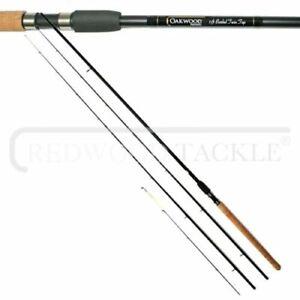 OAKWOOD Barbel 11ft 2 piece Rod Avon Style 1.5lb plus Quiver section Tip
