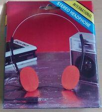 Vintage new headphones orange foam for Galaxy Guardians cosplay, auriculares box