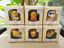 GUDETAMA Cup edge Figure (Set 1x6) / Limited in 7-Eleven Shop in Thailand only.