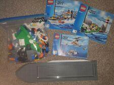 LEGO City 60014 Coast Guard Patrol Complete Town Boat