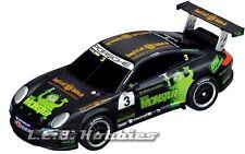 "Carrera GO!!! Porsche GT3 Cup ""Monster FM, U. Alzen"", 1/43 analog slot car 61216"