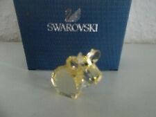 Swarovski figura lovlots mini mo en amarillo, personaje de vidrio