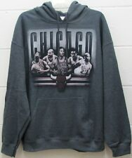 Chicago Bulls Men's NBA Hoodie Pullover Sweatshirt Shirt Basketball L Large New