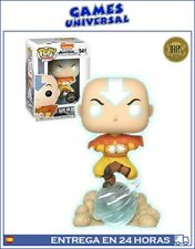 Funko Pop Avatar Aang On Airscooter Limited Chase Glow Edition