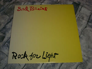 "Bad Brains - Rock For Light ,12"" Vinyl LP, 1991 Caroline Records, gebraucht"