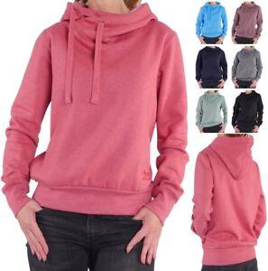 FINCHGIRL Hoodie Damen flauschig warmer Pullover Kapuzen-Sweatshirt Hoody Pulli