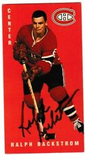 Autographed 1994 Parkhurst Tall Boy Ralph Backstrom Card #73 Montreal Canadiens