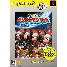 Used PS2   Ape Escape: Million Monkeys  SONY PLAYSTATION JAPAN IMPORT