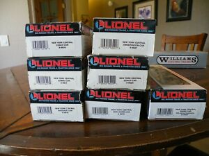 Lionel O Scale New York Central Lighted Baggage Car Lot 16016 To 6-16021, 16041