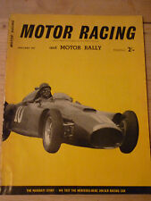 Motor Racing - BRSCC journal - magazine - January 1957