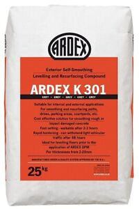 Ardex K301 Exterior self smoothing compound 25kg