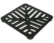 "Square 6"" (150mm) Cast Iron Heavy Duty Gully Grid Drain Cover Grate Metal"