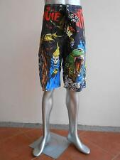 "Miute Mirth Hell Beach Surf Board Tattoo shorts size 36"" MSF01"