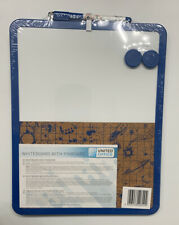 Dual Dry Erase Board and Cork Board with 2 Magnets And Pen, USA Seller!!!