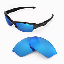 New WL Polarized Ice Blue Replacement Lenses For Oakley Flak Jacket Sunglasses