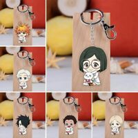 Anime The Promised Neverland Keychain Yakusoku No Neverland Pendant Key Ring UK