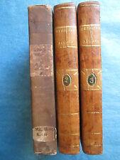 MAHON : MEDECINE LEGALE ET POLICE MEDICALE, 1801. 3 volumes complet.