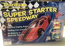 Darda Super Starter Speedway Toy Car Race Track Ages 4 & Up Vintage Sealed New