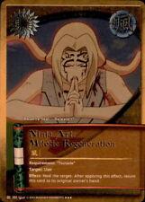 Naruto Ninja Art: Mitotic Regenration J- Super Rare Card Near Mint