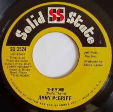 JIMMY McGRIFF ~ THE WORM ~ FUNK breaks SAMPLES 45 solid state HEAR