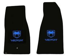 LLOYD MATS Velourtex™ 3pc FLOOR MAT SET 2008-2010 Dodge VIPER SRT-10 convertible